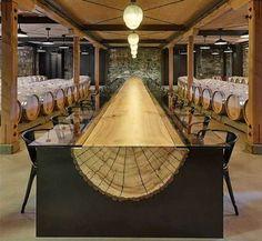 Madera y vidrio – Diseñada por John Houshmand