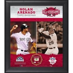 Nolan Arenado Colorado Rockies Fanatics Authentic Framed 15'' x 17'' 2015 MLB All-Star Game Collage with a Piece of Game-Used All-Star Baseball - $99.99