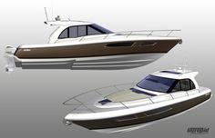 Intrepid 410 | Design Development