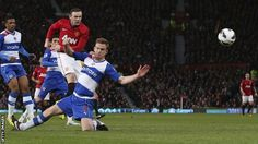 Manchester United 1 - 0 Reading (16 March 2013, Old Trafford).  Premier League