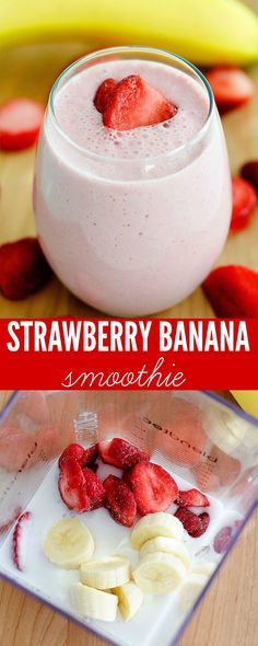 I love a good smoothie. There was a time in my life when I made it a habit to drink one every morning. For extra nutrition and health. I am vowing to get back on that train again and I'm starting with these super yummy Strawberry Banana Smoothies! These babies are cold and delicious with …