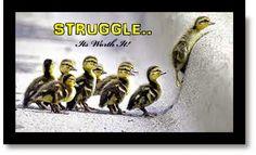 MAKE YOUR LIFE STRATEGY: STRUGGLE