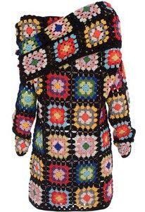 paul smith granny square dress