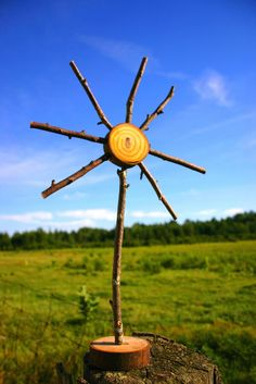 Wabi-Sabi Wanderings: Wooden Sun Craft - Part 2