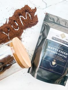 Wattleseed has a subtle roasted coffee aroma with a touch of sweet and spice, so it complements the mild roast of this ground coffee nicely. This blend of ground mild-roasted Australian grown coffee infused with wattleseed for a light, nutty, bitter-sweet twist on your standard cup of Joe. Made by award-winning Aboriginal-owned business Indigiearth, wattleseed infused coffee is an indulgent way to start the weekend, and could quickly become your next obsession! Native Foods, Australian Gifts, Coffee Aroma, Ground Coffee, Coffee Roasting, Bitter, Coffee Beans, Catering, Spices