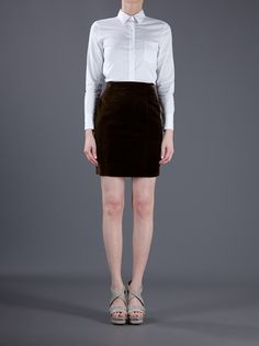 CHANEL VINTAGE - Short skirt from A.N.G.E.L.O. VINTAGE PALACE