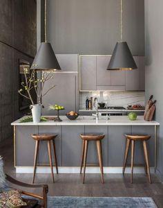 Gorgeous Small Kitchen Design Idea 142