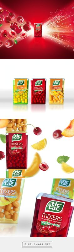 Tic Tac Mixers on  Packaging of the World - Creative Package Design Gallery  - http://www.packagingoftheworld.com/2015/05/tic-tac-mixers.html