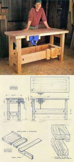 Making a Workbench - Workshop Solutions Projects, Tips and Tricks   WoodArchivist.com
