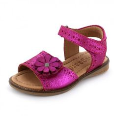 Bisgaard - Pinkfarbene Kinder Sandale
