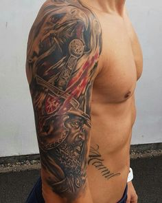 Body Art Tattoos, Cool Tattoos, Polish Tattoos, Beautiful Body, Tatting, Motorcycles, Eagle, Ink, Tattoos Pics