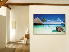 Deine Insel für Zuhause: http://www.cewe-fotobuch.at/produkte/wanddekoration/ #diy #wanddeko #island #holidays #sea