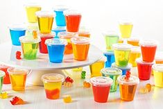 These layered Pina Colada jello shots are the best! They use Malibu rum and Island Pineapple jello...and they taste awesome! Perfect for a summer tropical party. #entertainingdiva #jelloshots #cocktails #partyideas Malibu Coconut, Coconut Cream, Malibu Rum, Alcoholic Punch Recipes, Jello Shot Recipes, Drink Recipes, Champagne Jello Shots, Pink Champagne, Malibu Mixed Drinks