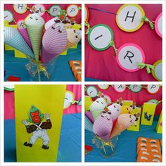 willy wonka candy party decor