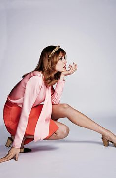 Model Jean Shrimpton's fashion statement changed the world forever – Picture: Duncan Killick