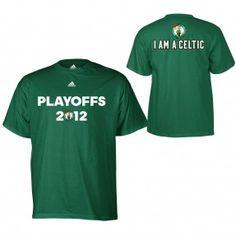 adidas Celtics 2012 PLAYOFFS. I AM A CELTIC T-Shirt