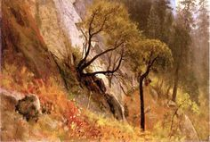 latest addition Bierstadt Albert Landscape Study Yosemite California