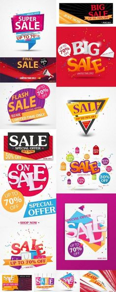 Sale Banner and Best Offer Design