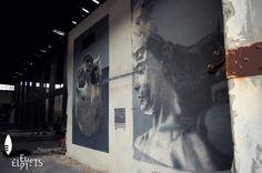 Το εγκαταλελειμμένο εργοστάσιο της Ελαιουργικής (Ελαΐς) στην Ελευσίνα μετατρέπεται σε καμβά της τέχνης του δρόμου! // The abandoned Οlive οil processing industry (Elaïs) at Elefsina transformed into a street art canvas!  photo credits: Labros Pnevmatikos  #Eleusis2021 #EUphoria #ECoC2021 #Eleusis #Elefsina #Ελευσίνα #streetart #urbanart #visualart #graffiti