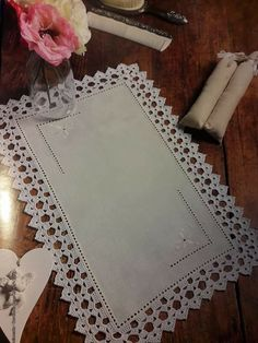 How to Crochet Wave Fan Edging Border Stitch Zig Zag Crochet, Crochet Boarders, Thread Crochet, Love Crochet, Crochet Motif, Beautiful Crochet, Vintage Crochet, Crochet Designs, Crochet Doilies