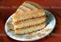 Простой рецепт бисквитно-желейный торт