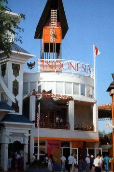 Pabellón de Indonesia. Expo 92 Pavilion, Sevilla, World's Fair, Antigua, Turismo, Gazebo