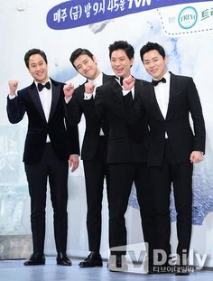 Tuxes and thumbs-up for Youths Over Flowers in Iceland » Dramabeans Korean drama recaps