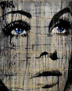 "Saatchi Art Artist Loui Jover; Drawing, ""again"" #art"