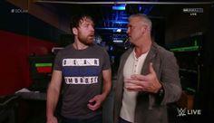 Dean Ambrose & Shane McMahon Mcmahon Family, Shane Mcmahon, Daddys Boy, Wwe Tna, Dean Ambrose, Wwe News, Wwe Wrestlers, Asylum, Superstar