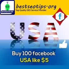 Buy USA Facebook Fanpage Likes | Real USA Page Likes