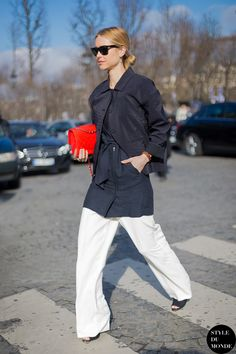 Pernille looking brilliant. Paris. #PernilleTeisbaek #LookDePernille