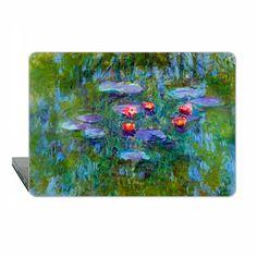 Macbook Pro 13 Touch bar Case water lily MacBook Air 13 cover floral Macbook 11 Monet Macbook 12 Macbook Pro 13 Retina classic Case Hard