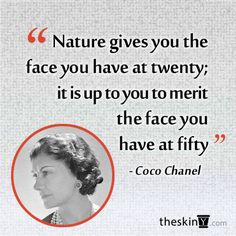 We live by this quote. Age amazingly by using quality skincare and entrusting your skin with a reputable dermatologist.