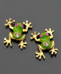 frog ear rings