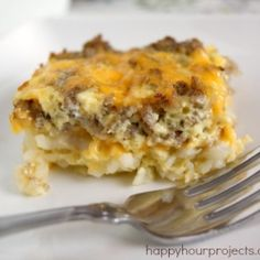 Sausage and Egg Breakfast Casserole made something similar to this for supper. So yummy and you can add any veggies you want!