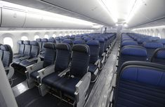 Kevin Freking, Associated Press Published a. ET Sept. 2018 Economy class seating is shown on a 2016 United Airlines Boeing undergoing final Airplane Seats, Federal Aviation Administration, Domestic Flights, United Airlines, Flight Attendant, The Good Place, Pilot, Car Seats, The Unit
