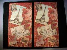 Paris Vintage Fancy Napkins   Set of 2 by Piaraciccone on Etsy, $2.00