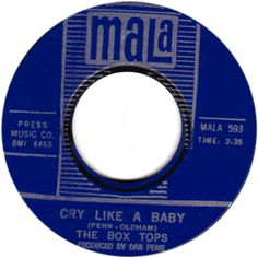 box tops 45 label | 45 Record: Cry Like A Baby/ The Door You Closed To Me by The Box Tops ... Much Music, Music Is Life, Good Music, 45 Records, Vinyl Records, Rock N Roll Music, Rock And Roll, Stars On 45, Cry Like A Baby