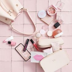 Pink vibes with our fave summer accessories // shop personalised leather accessories via @thedailyedited www.thedailyedited.com // Summer Accessories, Leather Accessories, Accessories Shop, So Creative, Just Amazing, Blush Pink, Bags, Flat, Light Rose