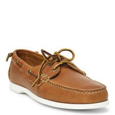 Telford Leather Boat Shoe - Ralph Lauren Casual - RalphLauren.com