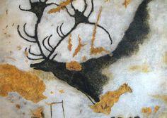 Schildering in de grot van Lascaux