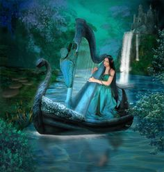 Bleu ... Turquoise ... Belle image