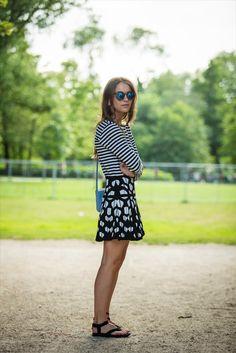 Lizzy van der Ligt  Sandal outfit Teva