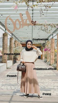 Modern Hijab Fashion, Fashion Terms, Hijab Fashion Inspiration, 2020 Fashion Trends, Modest Fashion, Skirt Fashion, Fashion Outfits, Fasion, Casual Hijab Outfit