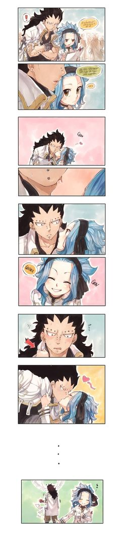 Gale Fairy Tail, Fairy Tail Juvia, Fairy Tale Anime, Fairy Tail Art, Fairy Tail Ships, Fairy Tales, Gajeel Et Levy, Harley Quinn Drawing, Fairy Tail Pictures