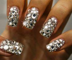 Crystal Rhinestone Effect Nail Art Crystals  by shabbyshopmemories, £2.99
