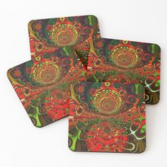 Coasters, Abstract Art, Digital Art, My Arts, Gift Wrapping, Art Prints, Lifestyle, Printed, Awesome