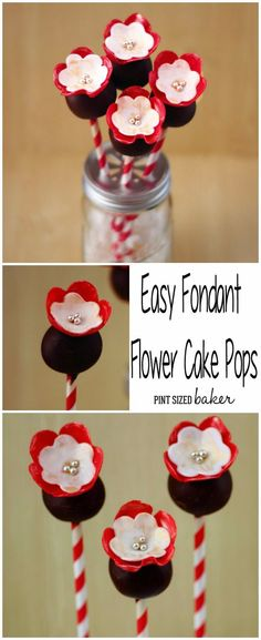 Learn how to make these Sweet Flowers Cake Pops. They are a great edible gift to give to someone special.