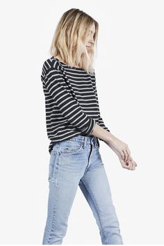 Caroline Ventura | Everlane Striped Tees
