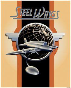 Steel Wings by stefanparis on deviantART